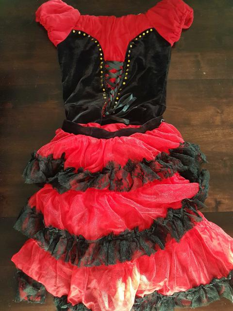 Spanish Style Red and Black Ballet